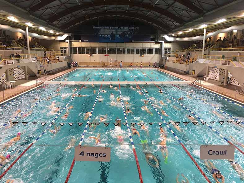 Cao orsay natation for Piscine orsay