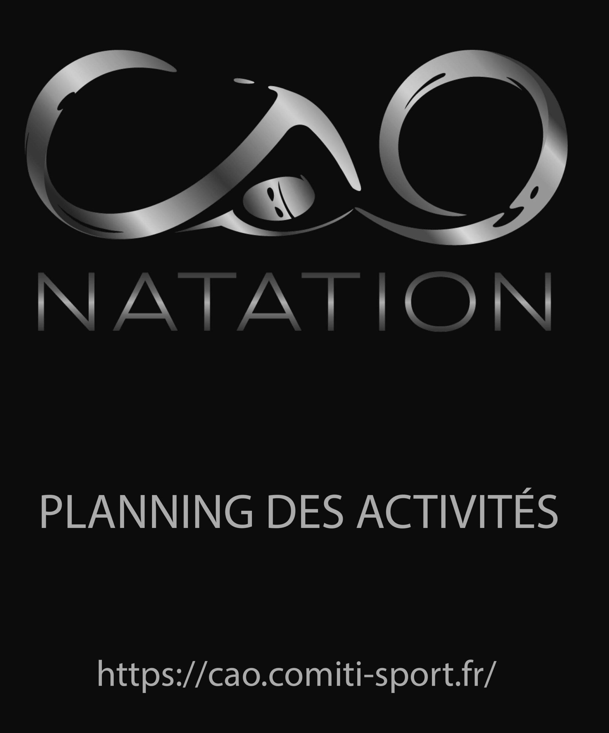 Planning des activités 2020-2021
